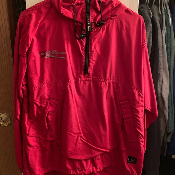 c6c5b75cd L.L. Bean Jackets & Coats | Ll Bean Quarter Zip Rain Jacket | Poshmark